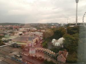 Utsikten från rummet Gothia Tower.