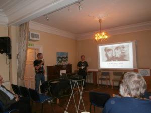 Knut Larn presenterar J-H Rosny